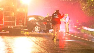 State police investigate a deadly head-on crash on State Route 32 in Cornwall.