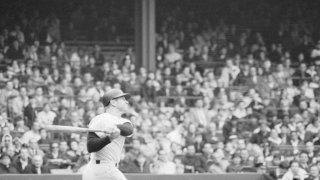 Baseball Player Mickey Mantle's 500th Home Run