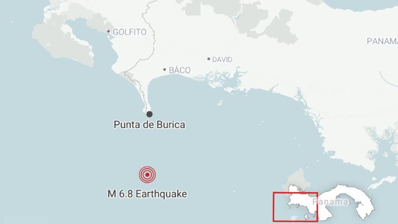 6.8-Magnitude Earthquake Shakes Panama and Costa Rica