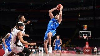 NBA veteran Danilo Gallinari of Italy led a comeback win over Germany