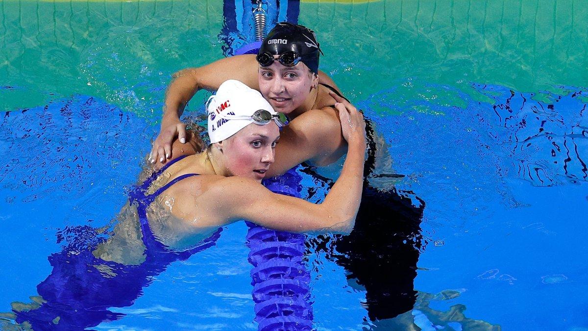 Americans Alex Walsh, Kate Douglass Take Silver, Bronze in Women's 200IM