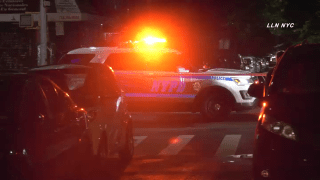 Police investigate a fatal scene in Queens where a man lying in a crosswalk was run over by a van.