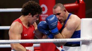Richard Torrez Jr. punches