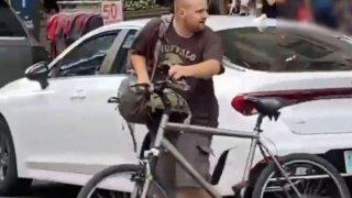 Anti-Asian attack suspect