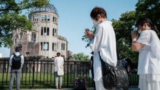 Atomic Bomb Dome hiroshima anniversarry