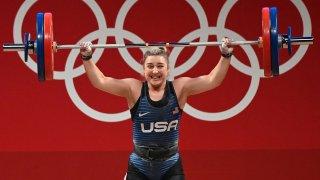 2021 : Katherine (Kate) Nye Wins Silver at Olympics