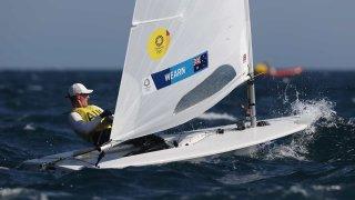 Matt Wearn sails