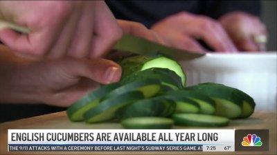 Produce Pete: English Cucumbers