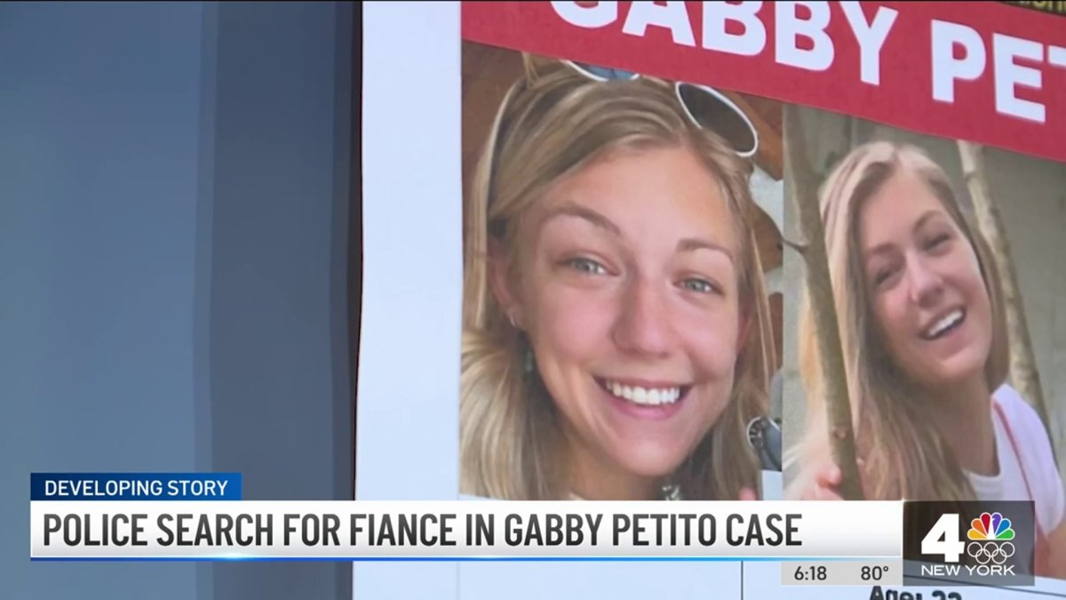 Gabby Petito Case: Cops Search Parks in 2 States for Her and Her Fiancé - NBC New York