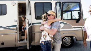 Woody Faircloth Donate RVs Wildfires