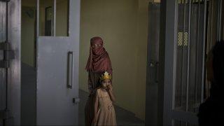 women prison in Kabul, Afghanistan