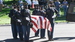 Funeral for Walter Smead, Korean War veteran Army Cpl. Walter Smead