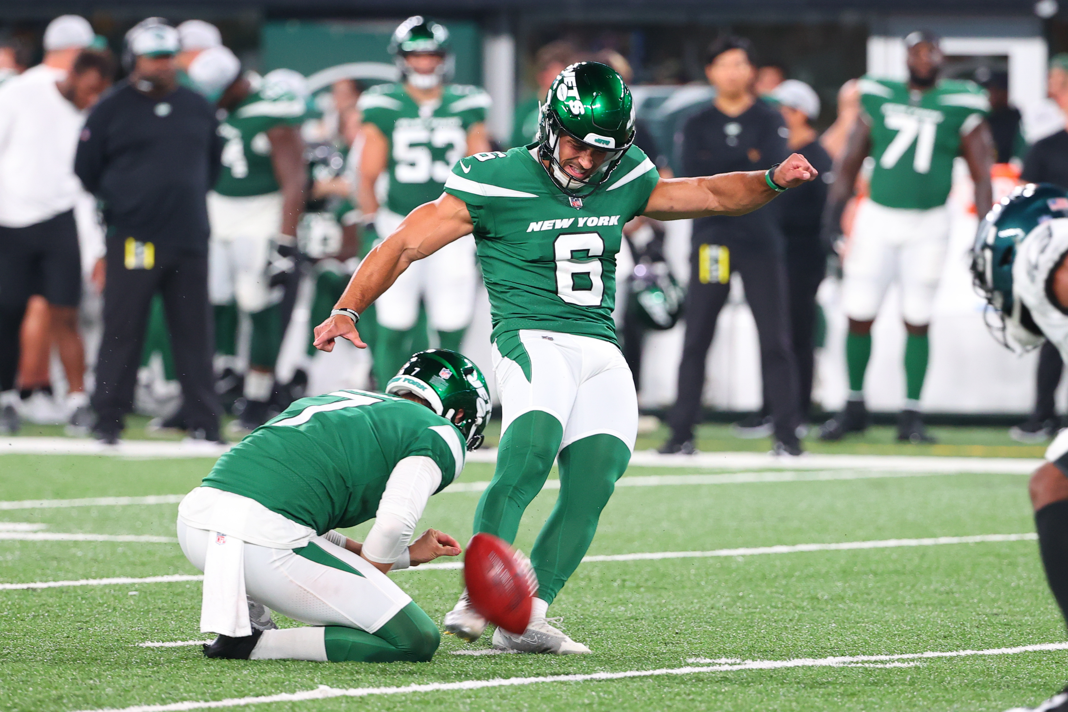 Jets Kicker Matt Ammendola Has Stunning Debut as Punter in Pinch — His First Punts Ever