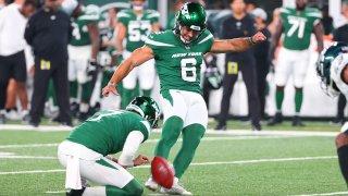 New York Jets kicker Matt Ammendola
