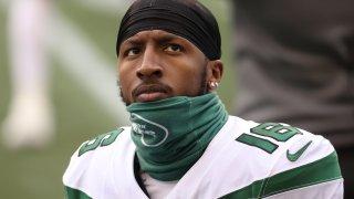Jets wide receiver Jeff Smith
