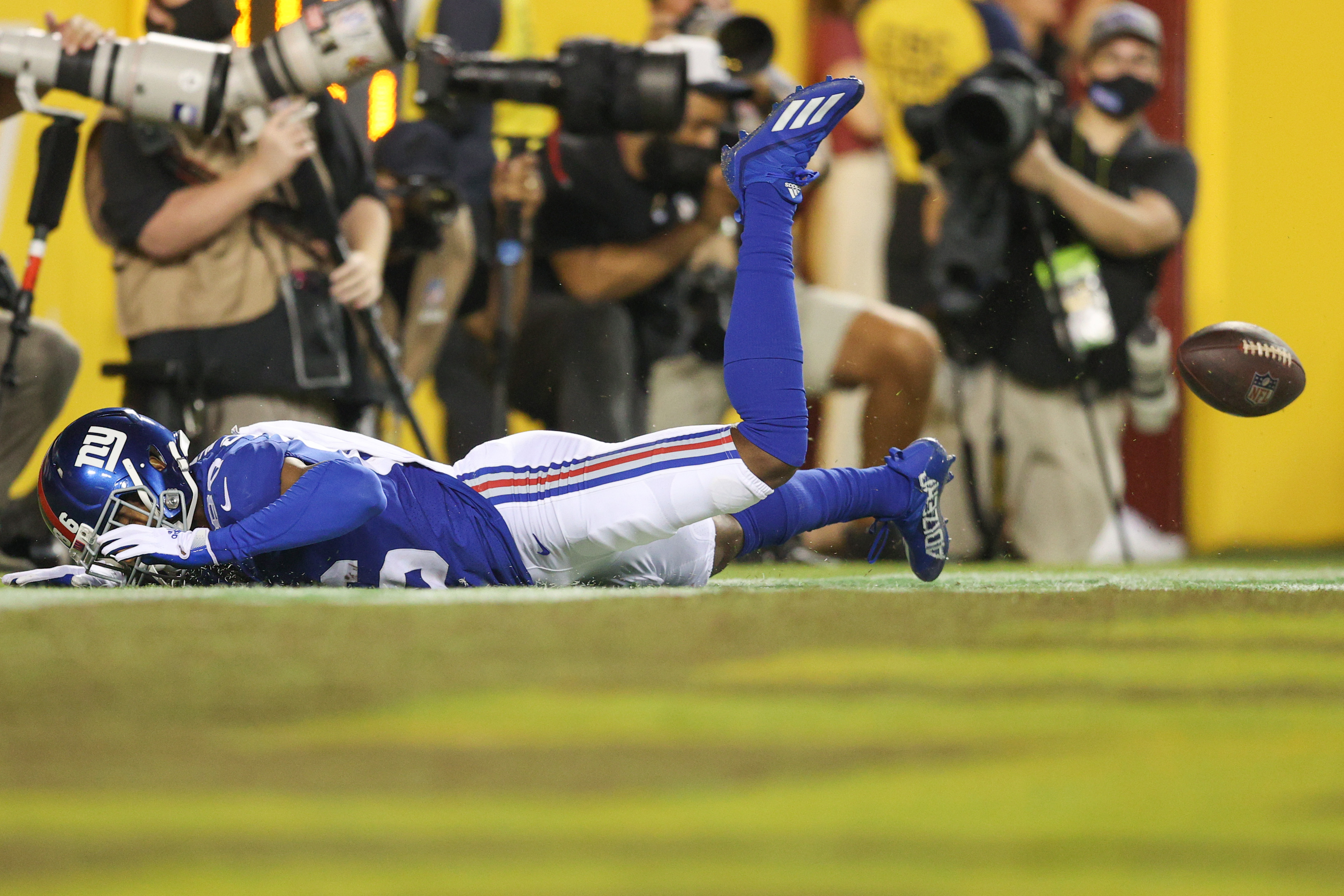 Giants Off to 0-2 Start for Fifth Straight Year