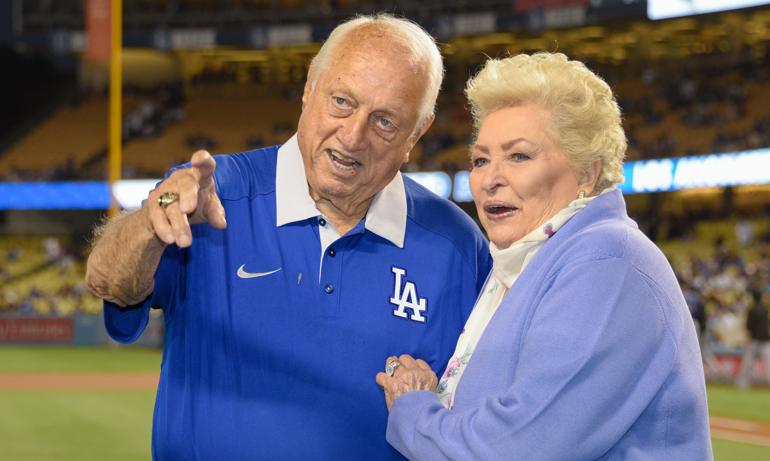 Jo Lasorda, Widow of Dodgers Hall of Fame Manager Tommy Lasorda, Dies at 91