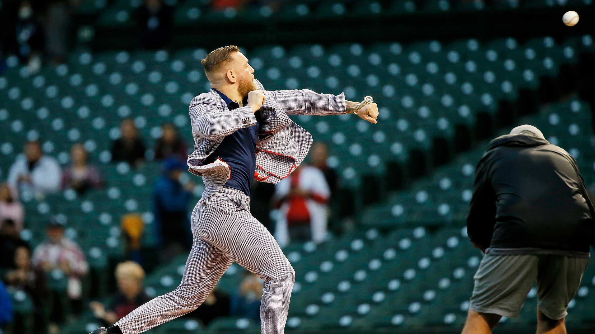 Where Conor McGregor's First Pitch Ranks Among Worst in History