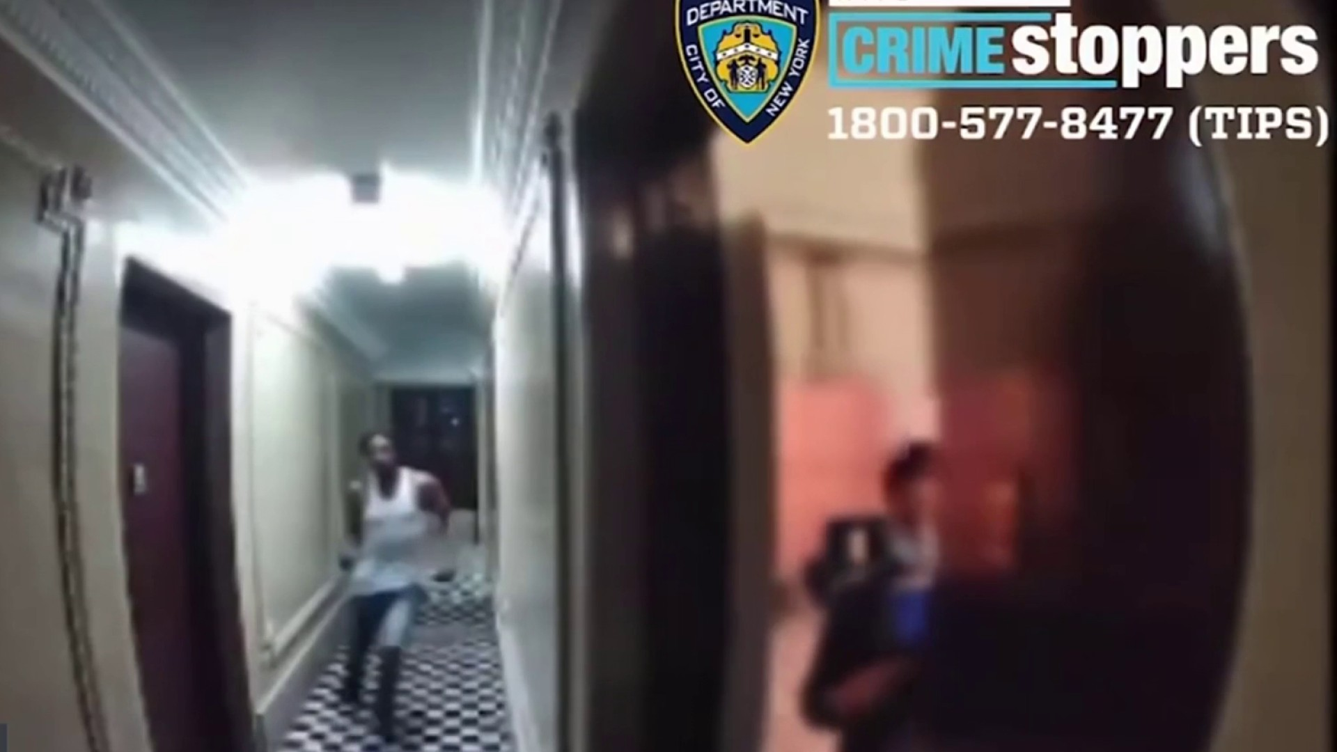 WATCH: NYC Woman Narrowly Escapes Potential Attacker Seconds From Apartment Door