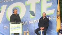 Obama Hits Campaign Trail As NJ Governor's Race Tightens
