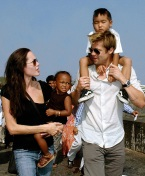 Angelina Jolie Brad Pitt 2006