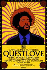 Questlove Spins 'Music & Freedom' Set on MLK Jr. Day