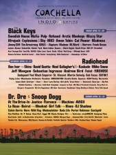 Radiohead, Pulp, Black Keys, At The Drive-In, Dr. Dre to Play Coachella