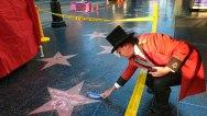 Trump Star Vandalized