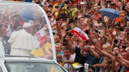 APTOPIX Poland Pope