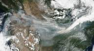 Sept. 4, 2017: Wildfire Smoke Drifts Across US on Jet Stream