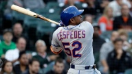 Cespedes Leads Mets Past Padres 6-5