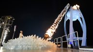 Yuna Kim Lights Olympic Torch