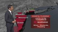 <strong>Coastal Flood Warning for Parts of NYC, NJ</strong>