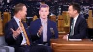 Peyton Manning Jokes He's Seen Eli's Blank Face Before