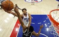 Okafor Leads 76ers Past Nets 103-98