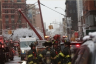 Watch: Dramatic Video Shows NYC Crane Collapse