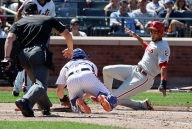 Injury-Riddled Mets Fall 5-1 to Phillies