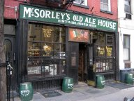 McSorley's Olde Ale House, Manhattan