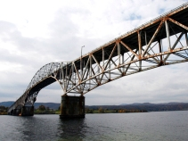 Historic New York Bridge Blown to Smithereens