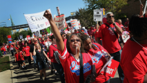 Chicago Teachers Strike in Nation's 3rd Largest School District