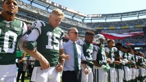 Jets, Giants Players Lock Arms After Trump Derides Protests