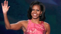 First Lady: Barack Embodies American Dream