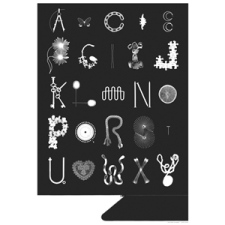 Dutch Osborne ABC Photogram
