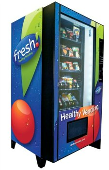 Healthy Vending Machines to Arrive in NYC