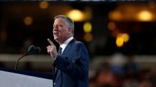 De Blasio at DNC: Trump is 'Great Pretender'