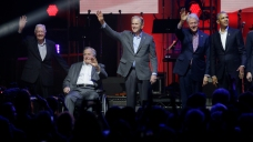5 Former Presidents Appear Together for Hurricane Relief