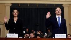 Hill Testifies Sondland Was on 'Political Errand' for Trump