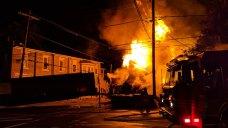 NJ Pizzeria Burns to Ground After Truck Crash Sparks Inferno