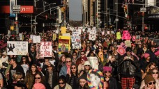 'This Is Our Time': 200,000 March Through NYC for Women