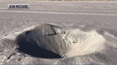 Mystery Crater on NJ Beach Raises Question of Meteorite